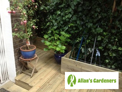 Professional Garden Design Located in Greenwich SE10